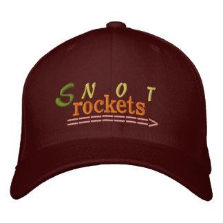 El Snot Rockets bordó el gorra Gorra De Beisbol