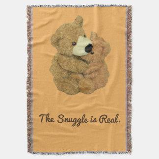 El Snuggle es manta real del tiro