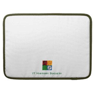 """ÉL sociedad de la historia 15"""" caja del ordenador Fundas Para Macbooks"""