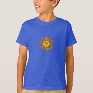 El sol de la Argentina de puede camiseta del