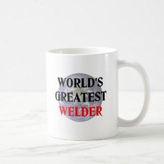 El soldador más grande taza de café