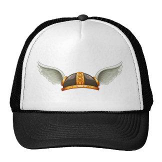 El sombrero de un vikingo gorra