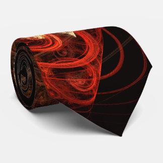 El sonido del lazo del arte abstracto de la música corbata