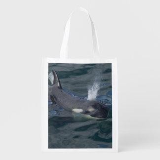 El soplar de la orca bolsas reutilizables