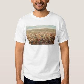 El soporte pasado de Custer (0482A) Camisetas