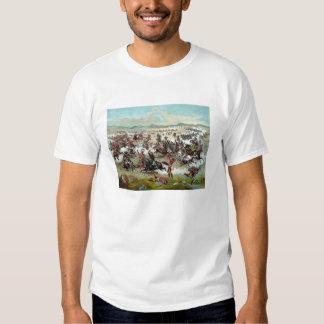 El soporte pasado de Custer Camisetas