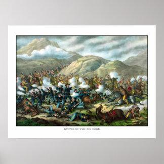 El soporte pasado de Custer Impresiones