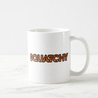 el squatchy real taza de café