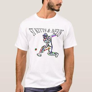 El St San Cristobal y Nevis señala la camiseta del