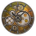 el steampunk adapta el reloj de máquina del