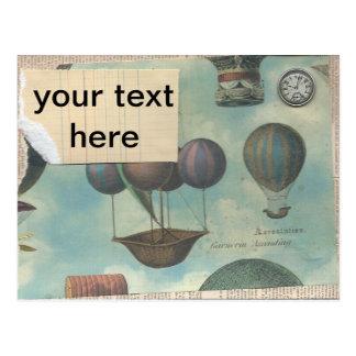 el steampunk inspiró la postal cualquier ocasión