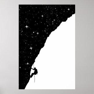 el subir de la noche póster
