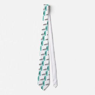 El subir de la pared corbata personalizada