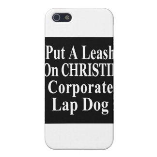 El subordinado del aceite de Chris Christie Koch d iPhone 5 Funda