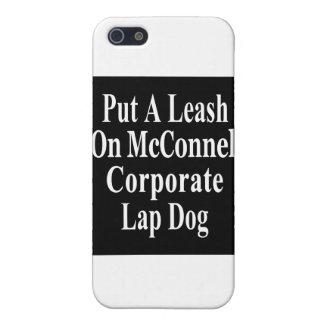 El subordinado del aceite de Mitch McConnell Koch  iPhone 5 Cárcasa
