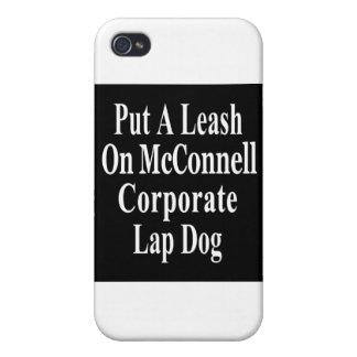 El subordinado del aceite de Mitch McConnell Koch  iPhone 4 Protectores