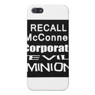 El subordinado del aceite de Mitch McConnell Koch iPhone 5 Cárcasas