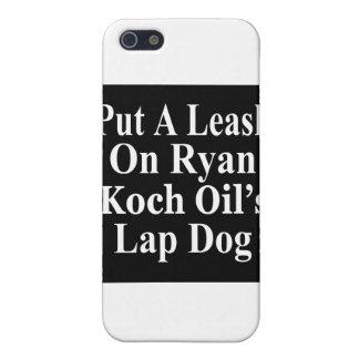 El subordinado malvado del aceite de Paul Ryan Koc iPhone 5 Coberturas