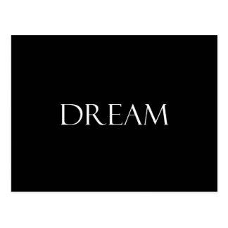 El sueño cita cita inspirada postal