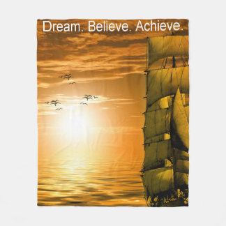 el sueño cree alcanza cita de motivación manta polar