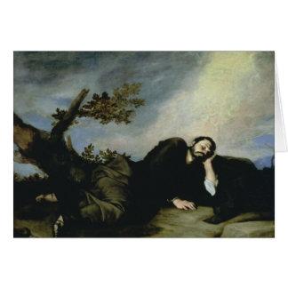 El sueño de Jacob, 1639 Tarjeta
