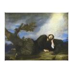 El sueño de Jacob de José de Ribera Lona Envuelta Para Galerías