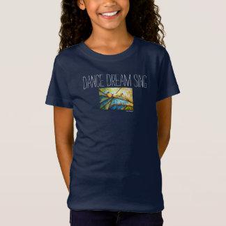 El sueño de la danza canta la camiseta del chica