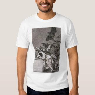 El sueño de la razón produce a monstruos camiseta