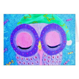 El sueño de las buenas noches tarjeta de felicitación