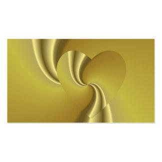 El sueño de oro del amor - amor en disfraz plantilla de tarjeta de visita