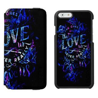 El sueño del amante de los que nos aman funda cartera para iPhone 6 watson