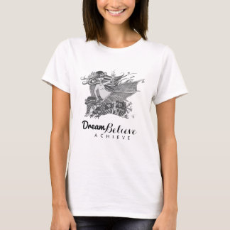 El sueño del chica el | del palo del armadillo camiseta