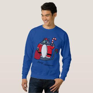 El suéter de los hombres de lujo del navidad