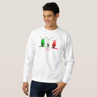 El suéter de los hombres italianos del Vespa