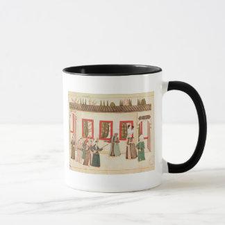 El sultán con su favorito taza