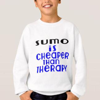 El sumo es más barato que terapia sudadera