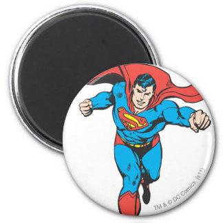 El superhombre corre adelante 2 imán redondo 5 cm