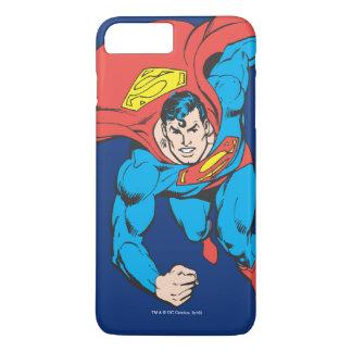 El superhombre corre adelante funda para iPhone 8 plus/7 plus