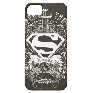 El superhombre Stylized el honor del |, la verdad Funda Para iPhone SE/5/5s