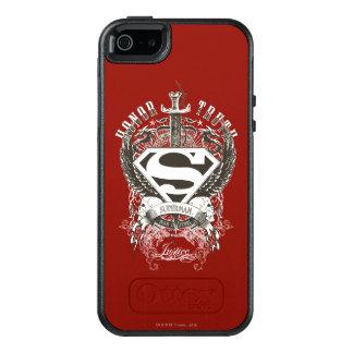 El superhombre Stylized el honor del |, verdad en Funda Otterbox Para iPhone 5/5s/SE
