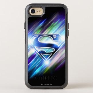 El superhombre Stylized el logotipo brillante de Funda OtterBox Symmetry Para iPhone 8/7