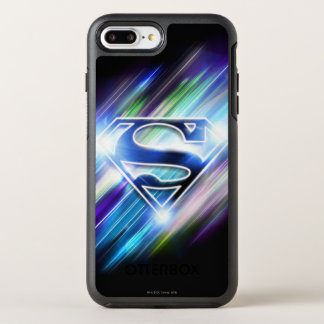 El superhombre Stylized el logotipo brillante de Funda OtterBox Symmetry Para iPhone 8 Plus/7 Plus