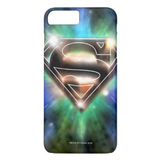 El superhombre Stylized el logotipo brillante de Funda Para iPhone 8 Plus/7 Plus