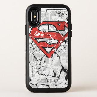 El superhombre Stylized el logotipo cómico