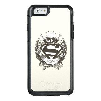 El superhombre Stylized el logotipo de la justicia Funda Otterbox Para iPhone 6/6s