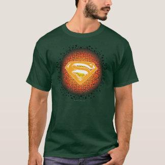 El superhombre Stylized el logotipo del crujido Camiseta