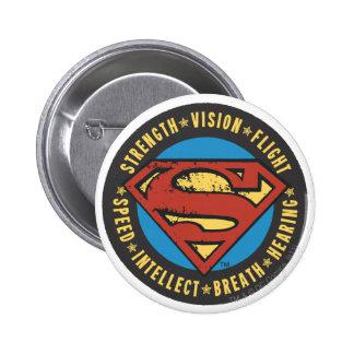 Chapas con diseños de Superman en Zazzle