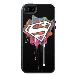El superhombre Stylized el logotipo torcido el | 2 Funda Otterbox Para iPhone 5/5s/SE