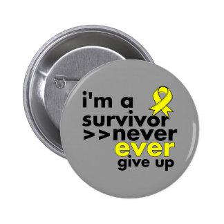 El superviviente del sarcoma de Ewing nunca da par Pin