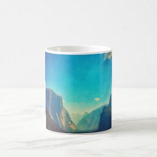 EL surrealista Capitan y media taza de Yosemite de